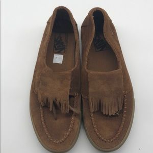 Moccasin style sneakers